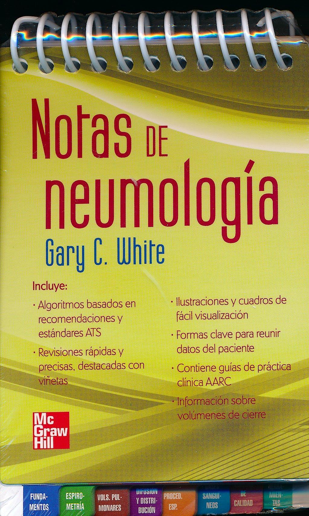 Portada del libro 9786071507877 Notas en Neumología
