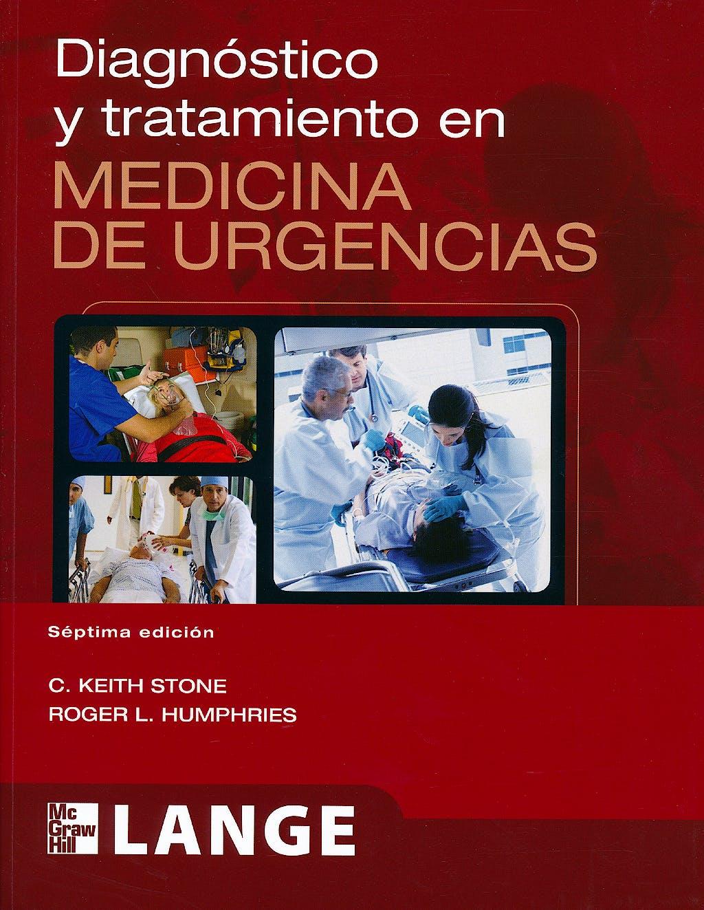Portada del libro 9786071507914 Diagnostico y Tratamiento en Medicina de Urgencias. Lange