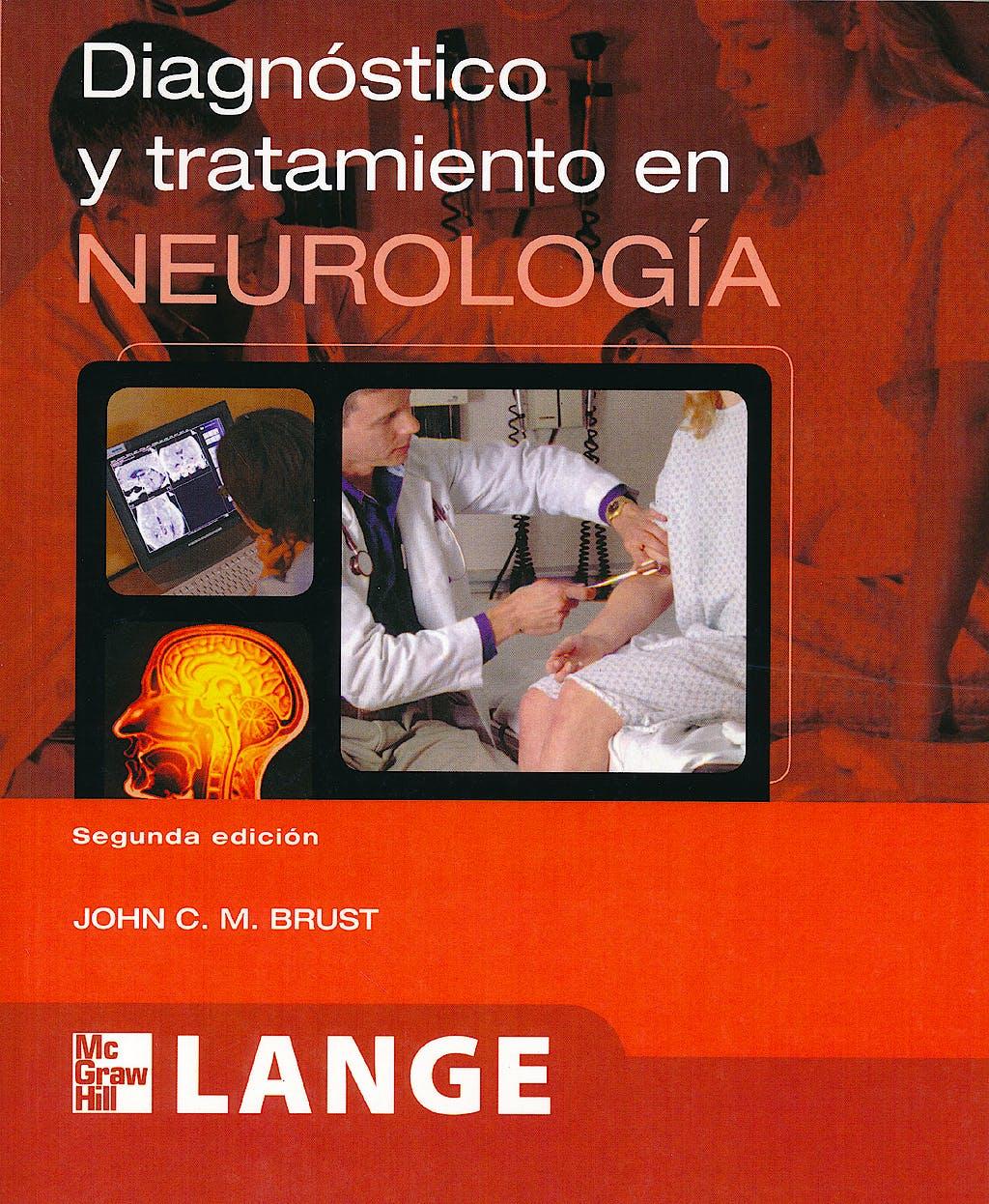 Portada del libro 9786071508386 Diagnostico y Tratamiento en Neurologia. Lange