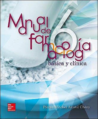Portada del libro 9786071509116 Manual de Farmacología Básica y Clínica