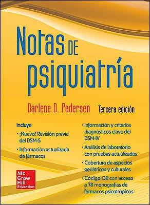 Portada del libro 9786071509611 Notas de Psiquiatria