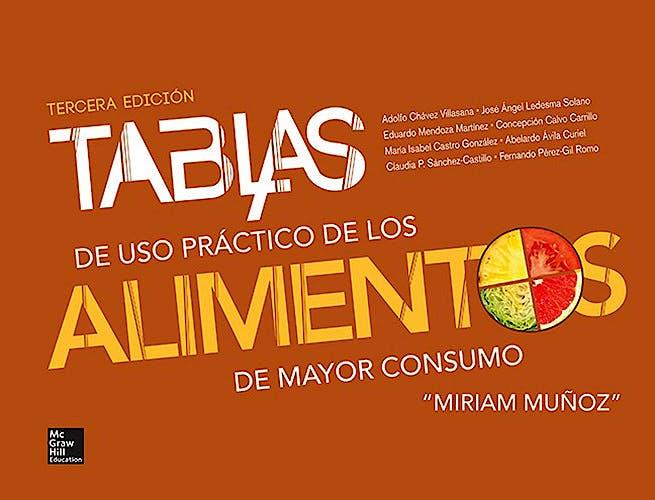Portada del libro 9786071509697 Tablas de Uso Practico de los Alimentos de Mayor Consumo