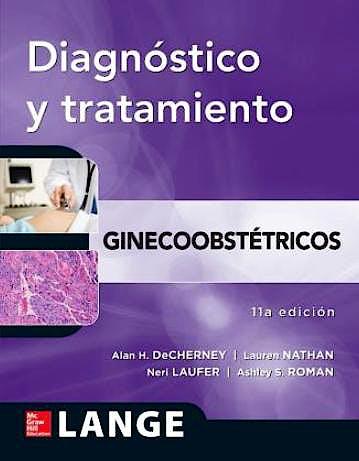 Portada del libro 9786071509857 Diagnostico y Tratamiento Ginecoobstetricos. Lange