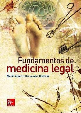 Portada del libro 9786071509918 Fundamentos de Medicina Legal