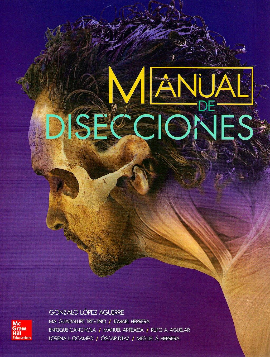 Portada del libro 9786071511980 Manual de Disecciones