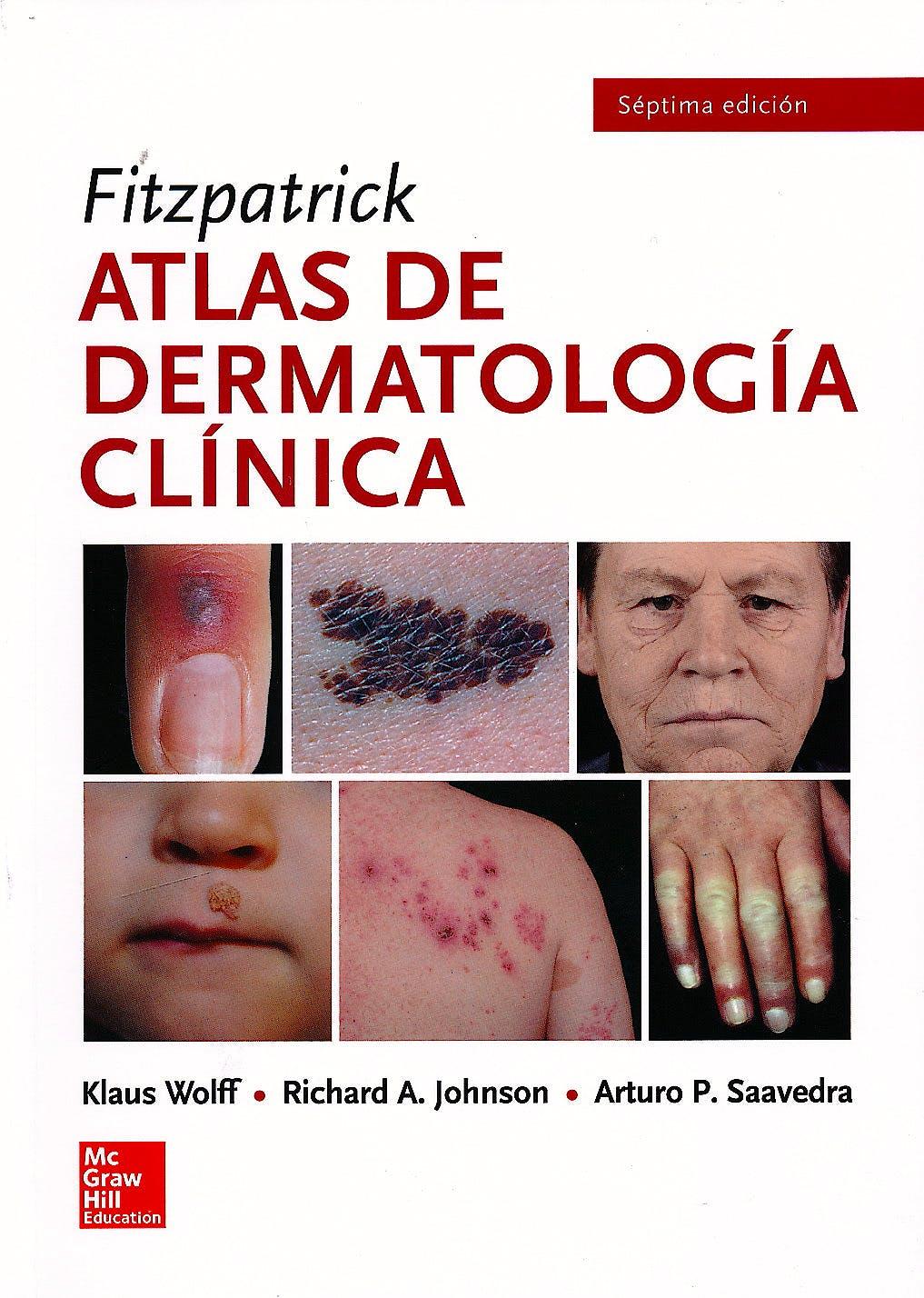 Portada del libro 9786071512048 Fitzpatrick Atlas de Dermatología Clínica