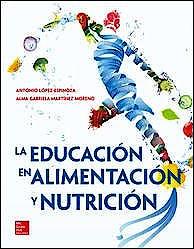 Portada del libro 9786071513717 La Educacion en Alimentacion y Nutricion