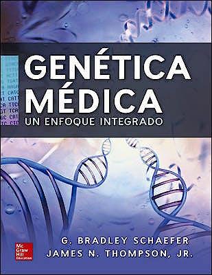 Portada del libro 9786071513755 Genética Médica. Un Enfoque Integrado