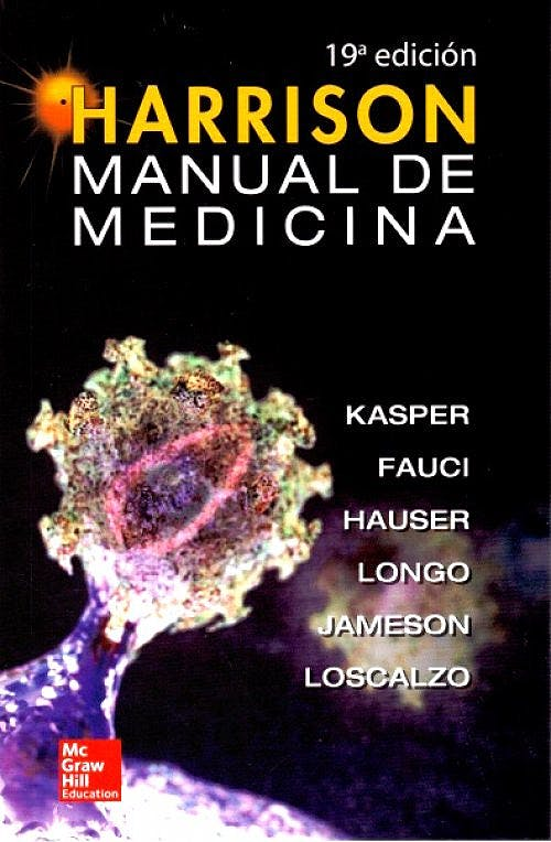 Portada del libro 9786071514097 Harrison Manual de Medicina