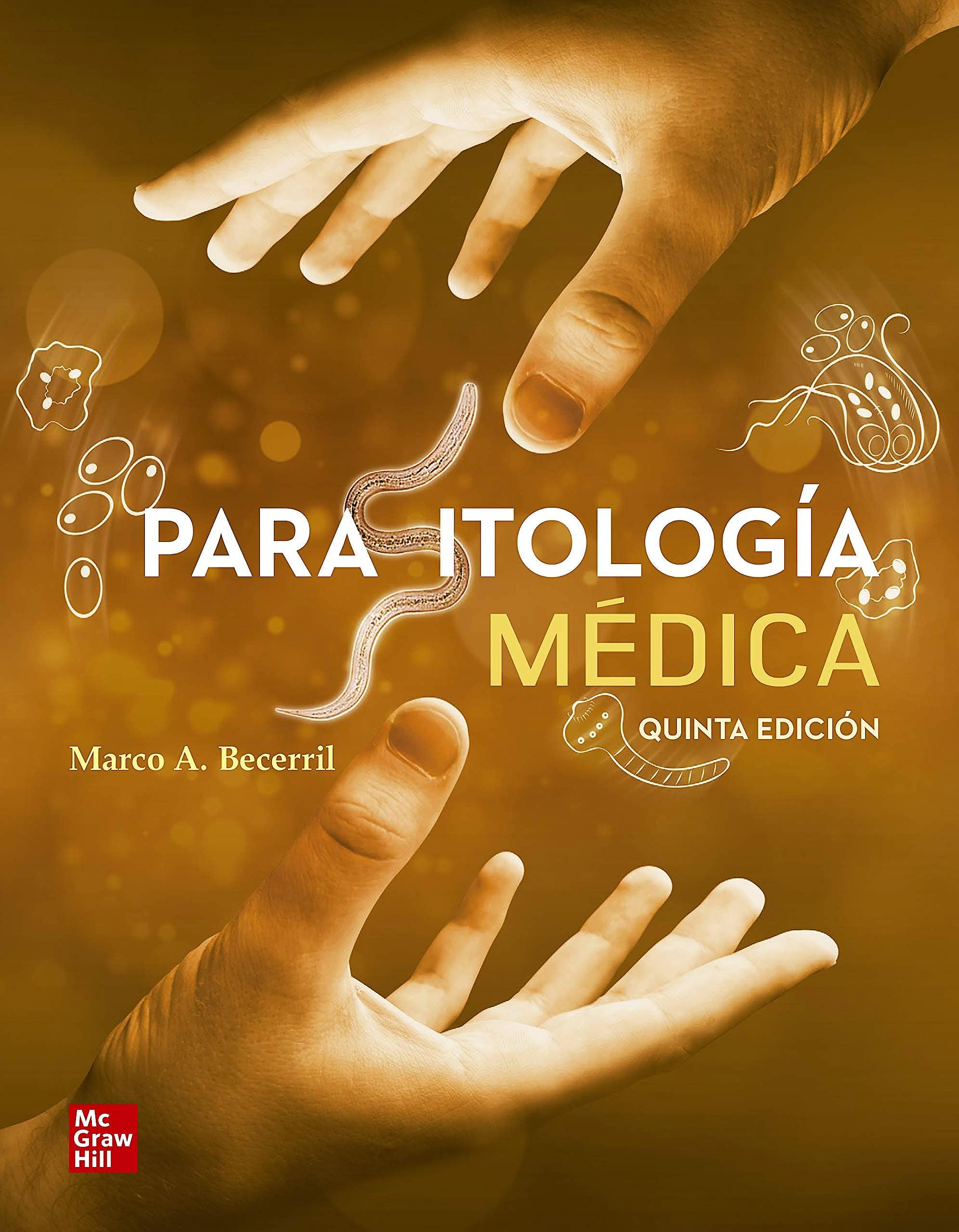 Portada del libro 9786071514226 Parasitología Médica