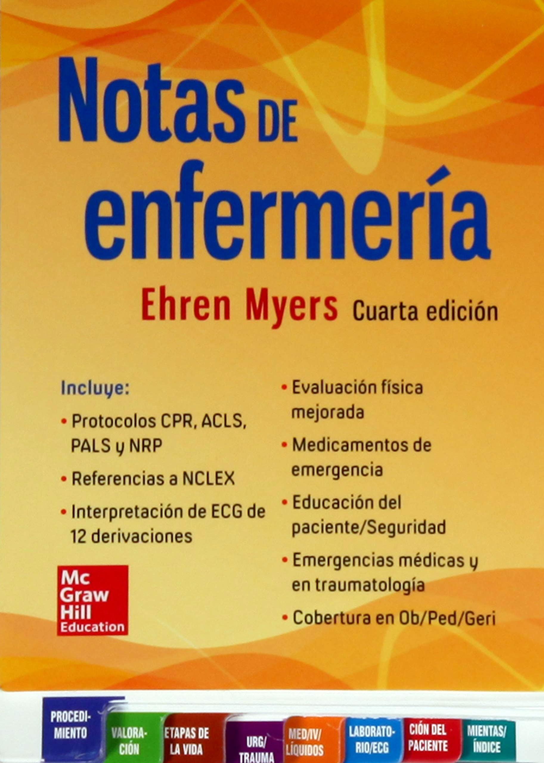Portada del libro 9786071514394 Notas de Enfermería