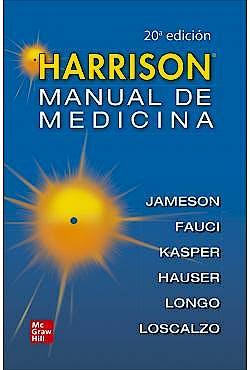 Portada del libro 9786071514875 HARRISON Manual de Medicina