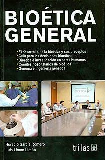 Portada del libro 9786071702258 Bioetica General