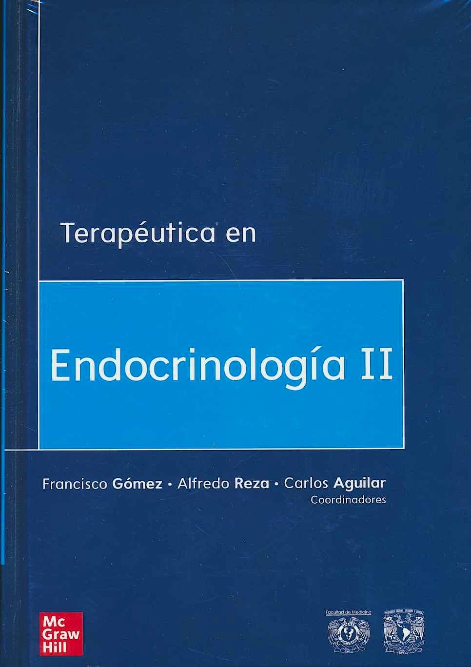 Portada del libro 9786073019101 Terapéutica en Endocrinología II