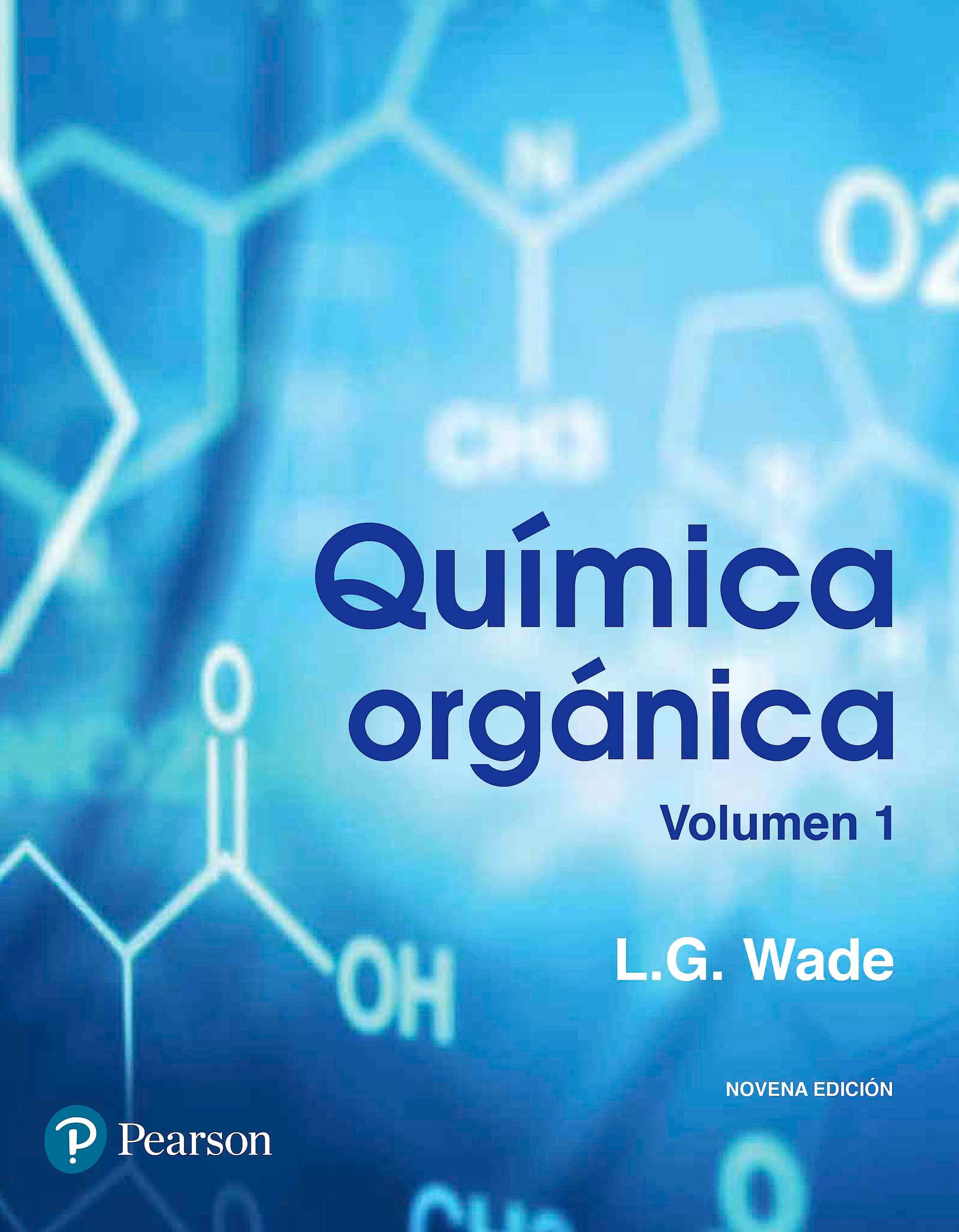 Portada del libro 9786073238472 Química Orgánica, Vol. 1