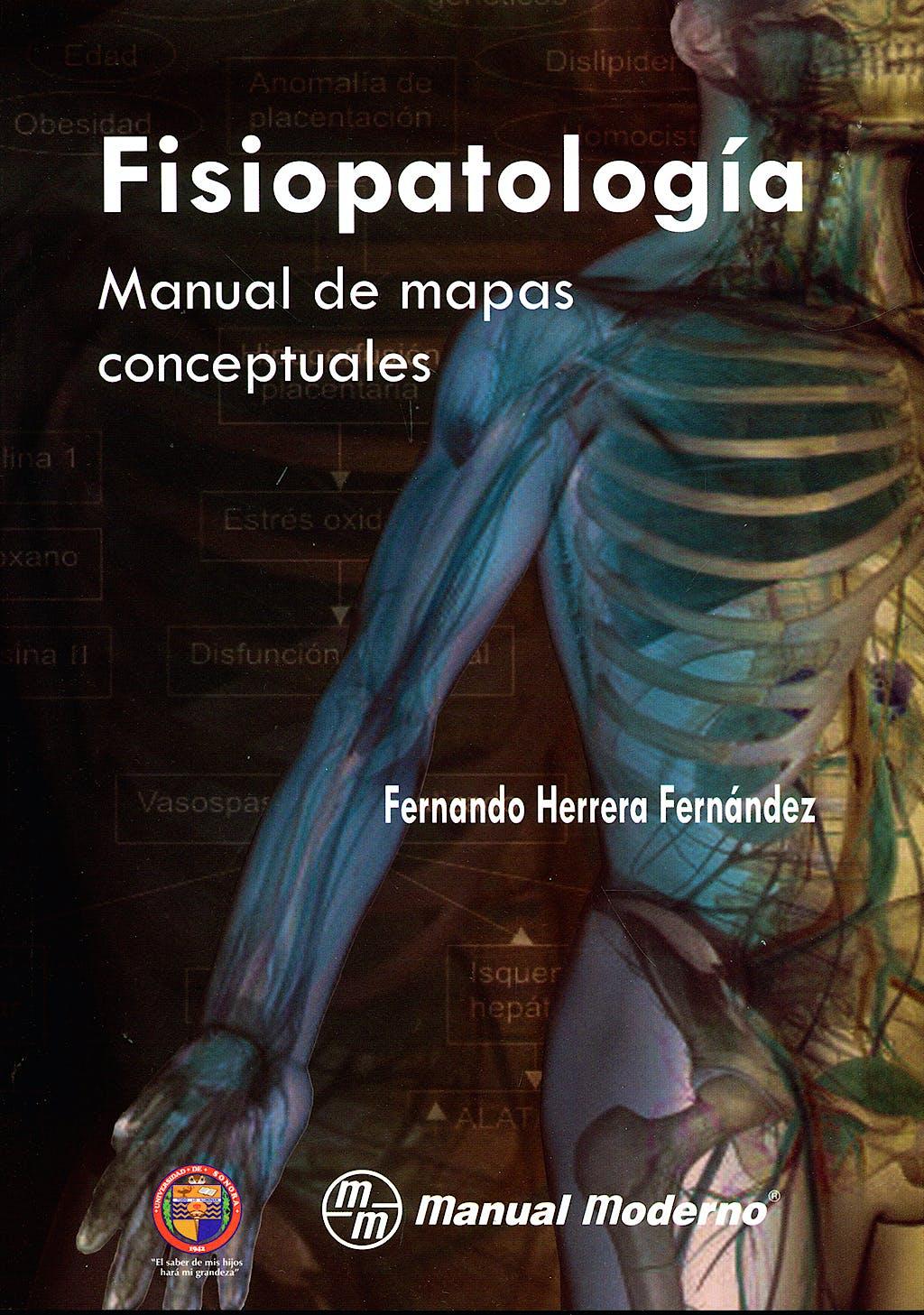 Portada del libro 9786074480214 Fisiopatologia. Manual de Mapas Conceptuales