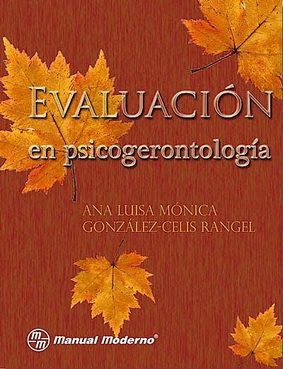 Portada del libro 9786074480344 Evaluacion en Psicogerontologia