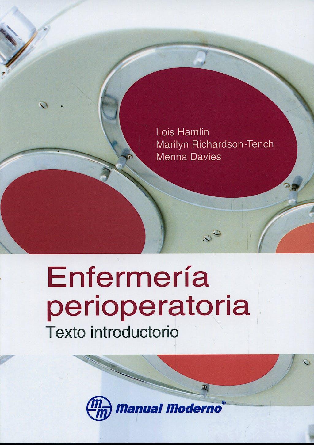 Portada del libro 9786074480399 Enfermeria Perioperatoria. Texto Introductorio