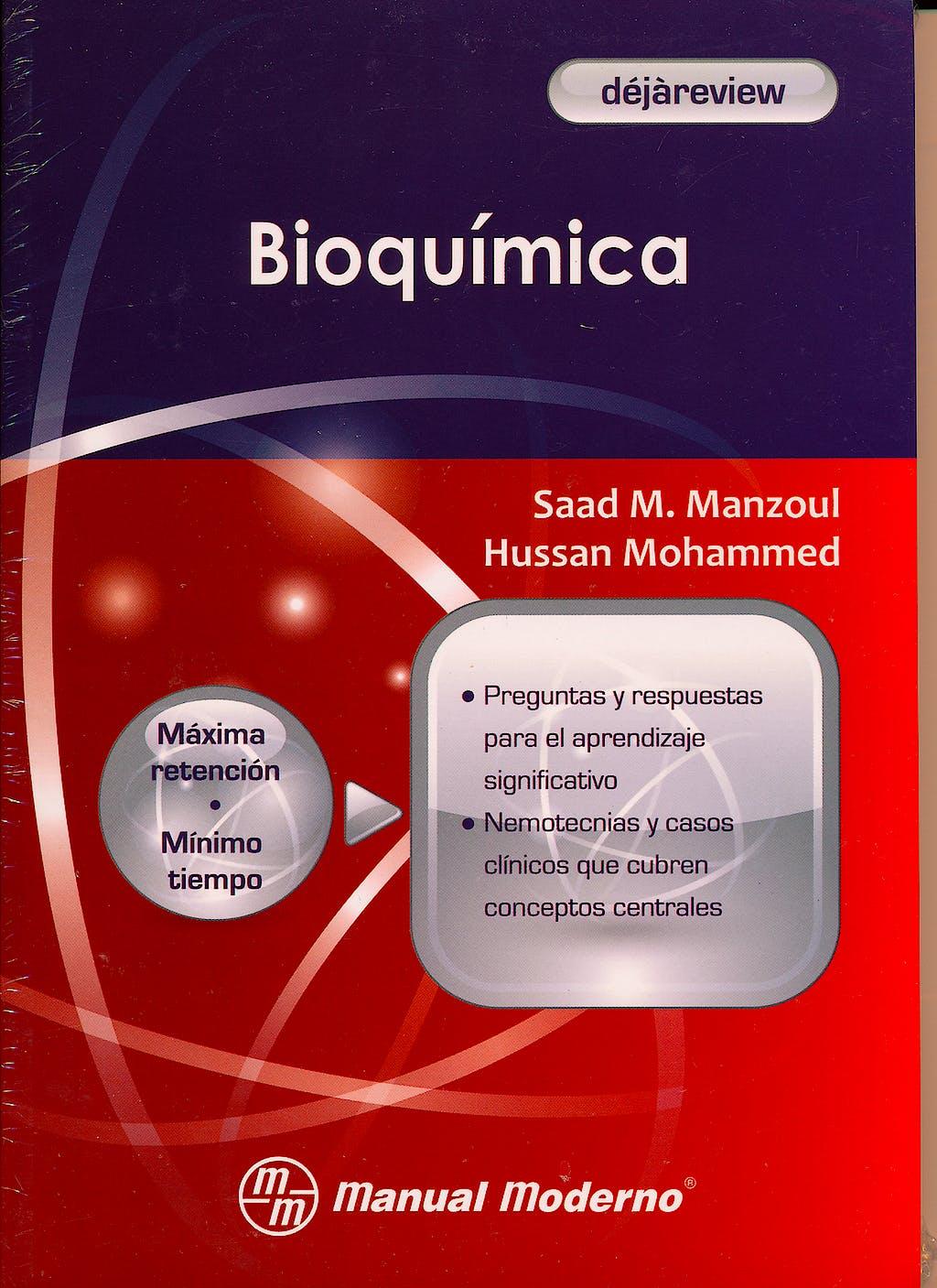 Portada del libro 9786074480962 Bioquimica