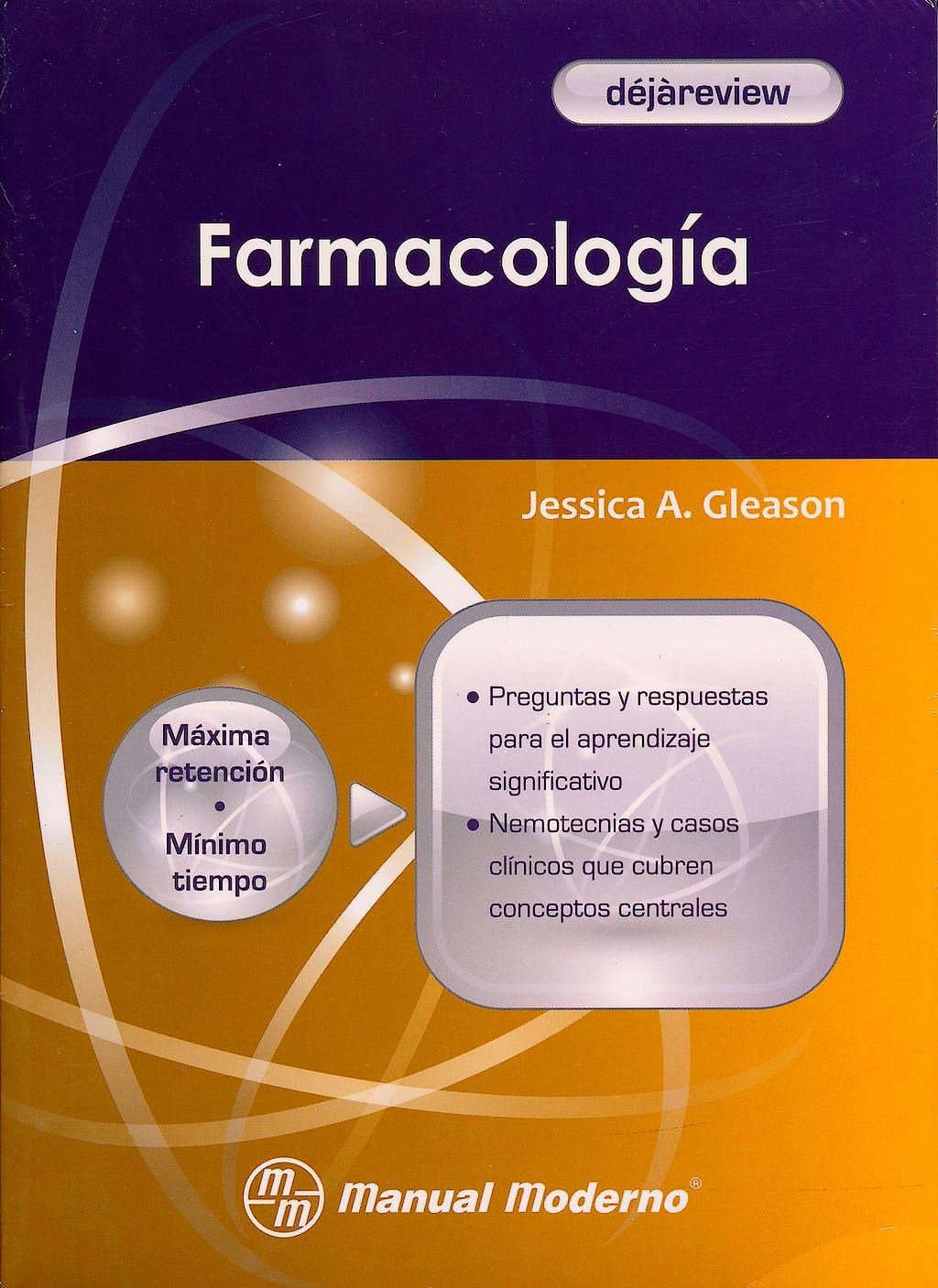 Portada del libro 9786074480986 Farmacologia