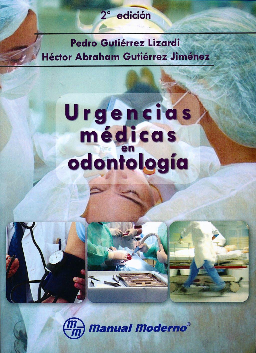 Portada del libro 9786074482140 Urgencias Medicas en Odontologia