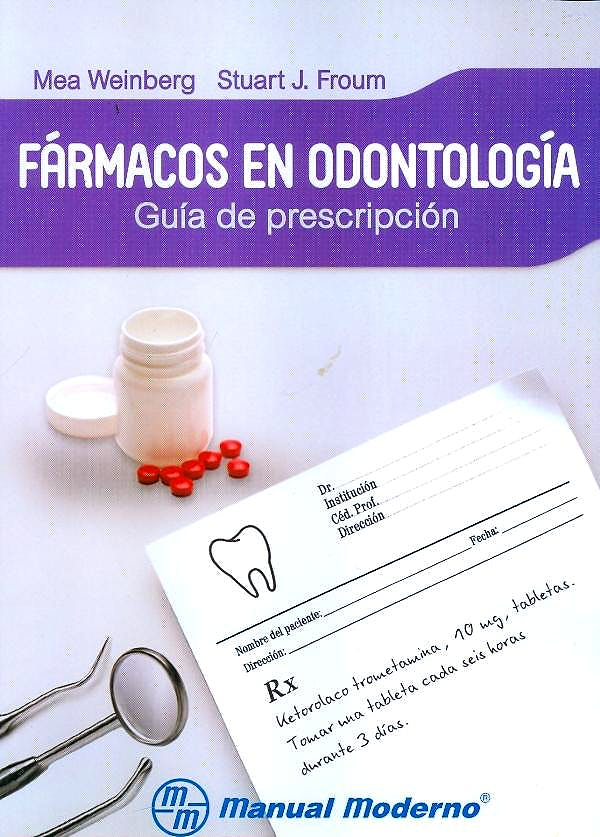 Portada del libro 9786074483734 Fármacos en Odontología. Guía de Prescripción