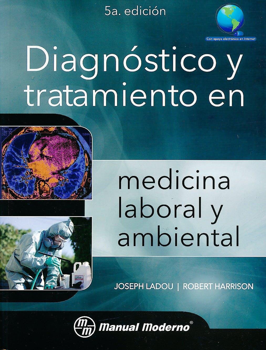 Portada del libro 9786074485035 Diagnóstico y Tratamiento en Medicina Laboral y Ambiental