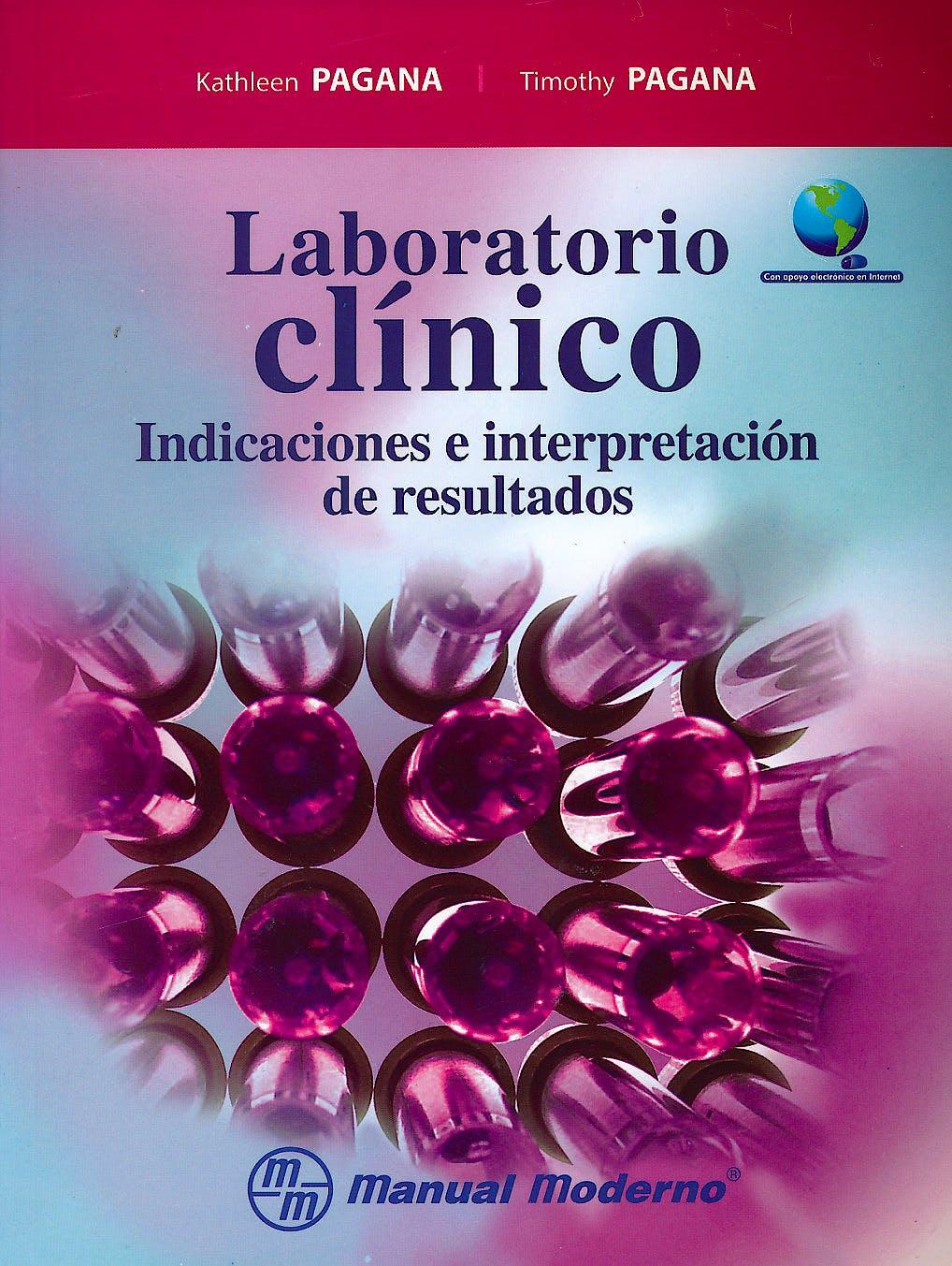 Portada del libro 9786074485080 Laboratorio Clinico. Indicaciones e Interpretacion de Resultados