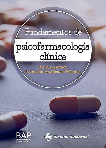 Portada del libro 9786074486834 Fundamentos de Psicofarmacología Clínica
