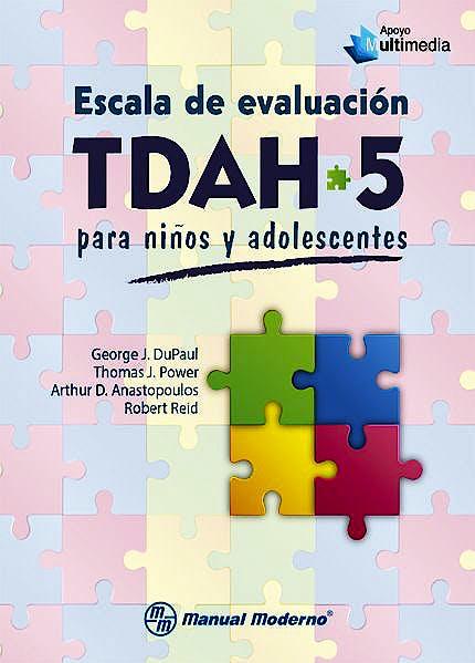 Portada del libro 9786074486841 Escala de Evaluación TDAH-5 para Niños y Adolescentes