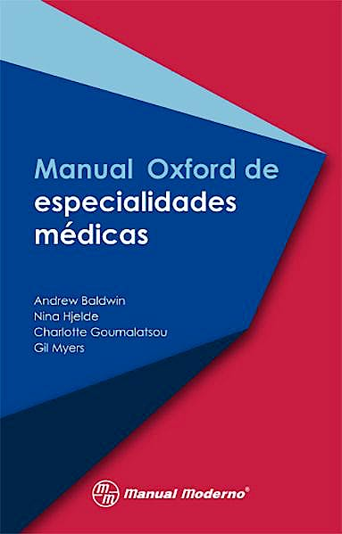 Portada del libro 9786074486933 Manual Oxford de Especialidades Médicas