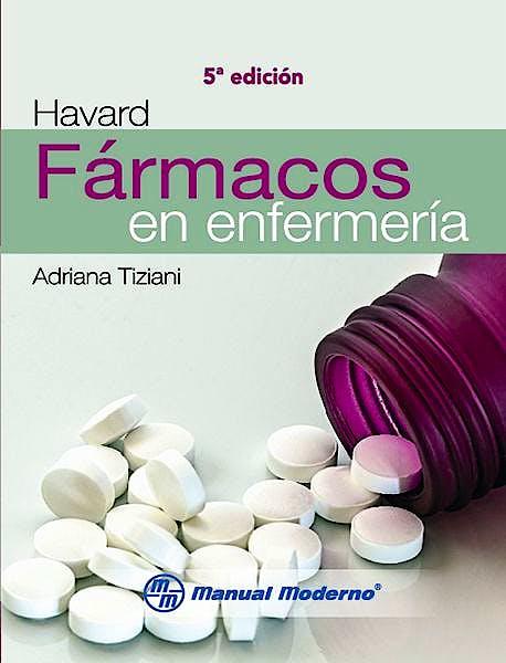 Portada del libro 9786074487053 Havard Fármacos en Enfermería