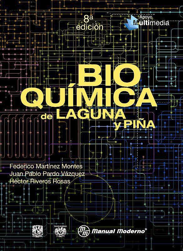 Portada del libro 9786074487060 Bioquímica de Laguna y Piña