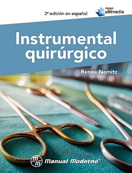 Portada del libro 9786074487213 Instrumental Quirúrgico + Apoyo Multimedia