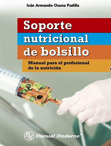 Portada del libro 9786074487220 Soporte Nutricional de Bolsillo. Manual para el Profesional de la Nutrición