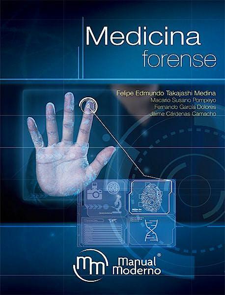 Portada del libro 9786074487664 Medicina Forense