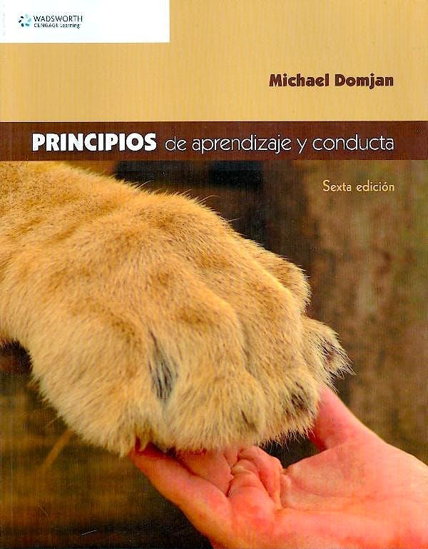 Portada del libro 9786074812473 Principios de Aprendizaje y Conducta