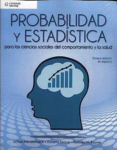 Portada del libro 9786075263090 Probabilidad y Estadística para Ciencias Sociales y Salud