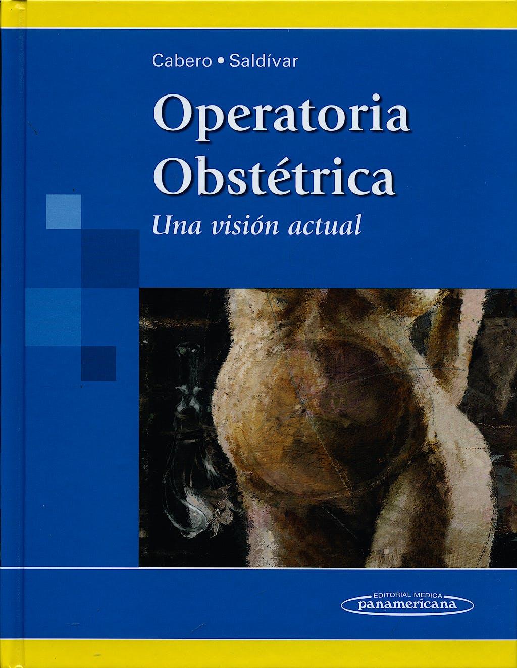 Portada del libro 9786077743064 Operatoria Obstetrica. una Vision Actual