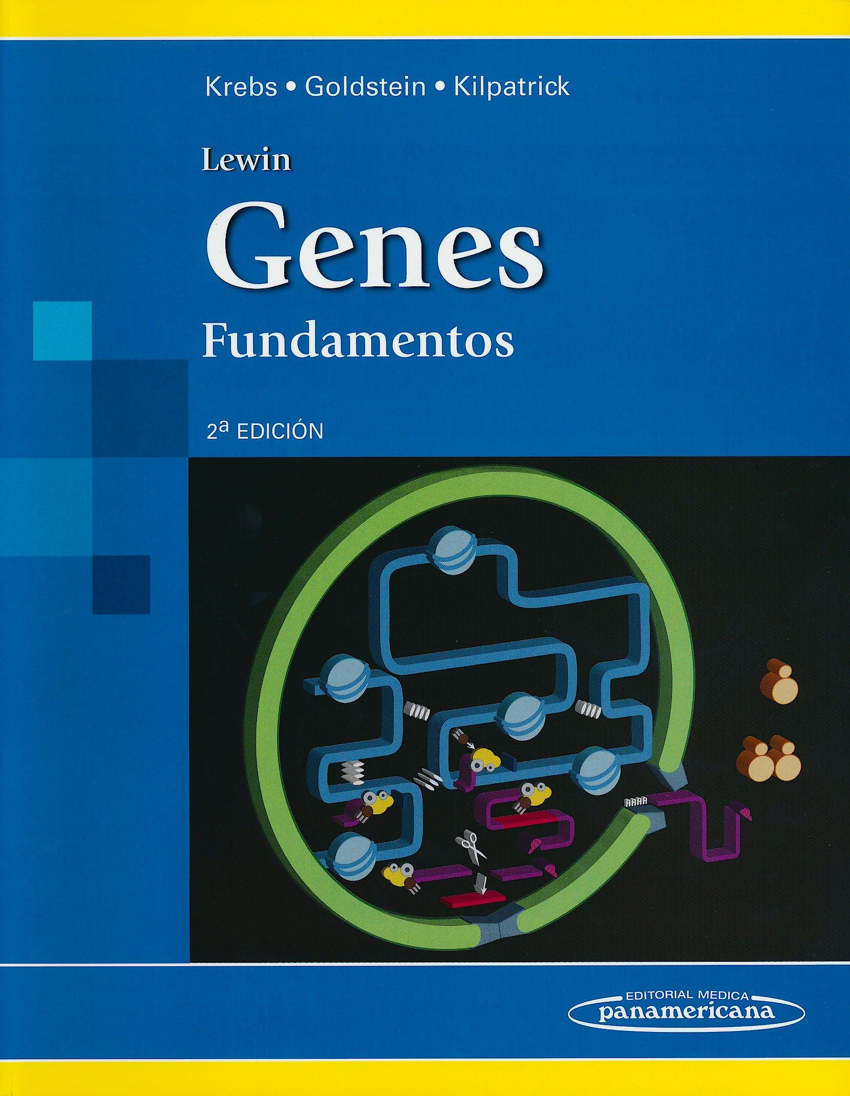 Portada del libro 9786077743385 Lewin Genes. Fundamentos