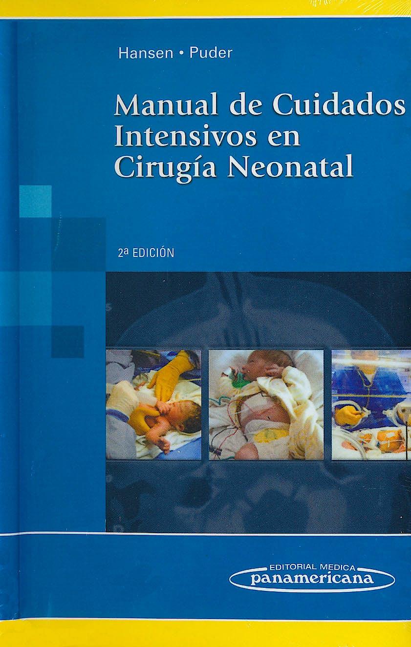 Portada del libro 9786077743392 Manual de Cuidados Intensivos en Cirugia Neonatal