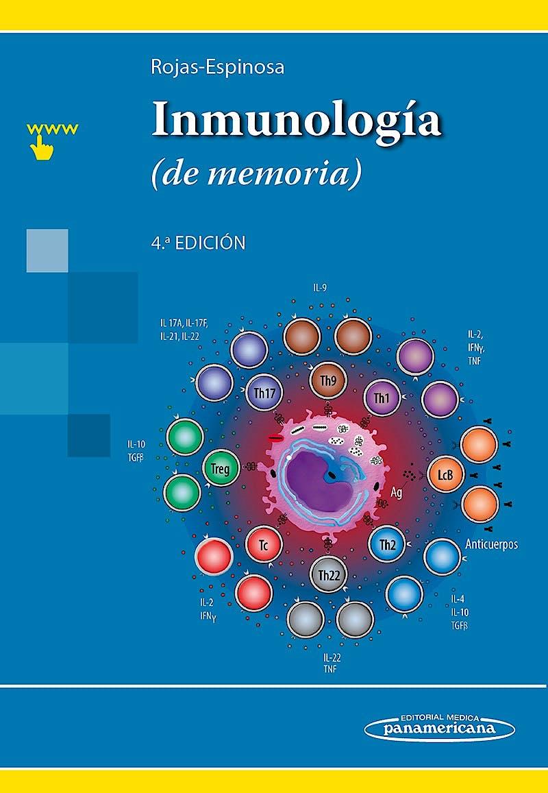 Portada del libro 9786078546039 Inmunología (de Memoria)