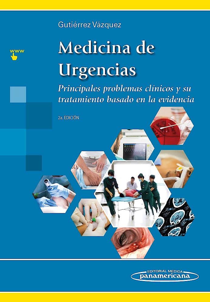 Portada del libro 9786078546091 Medicina de Urgencias. Principales Problemas Clínicos y Su Tratamiento Basado en la Evidencia + Acceso Online