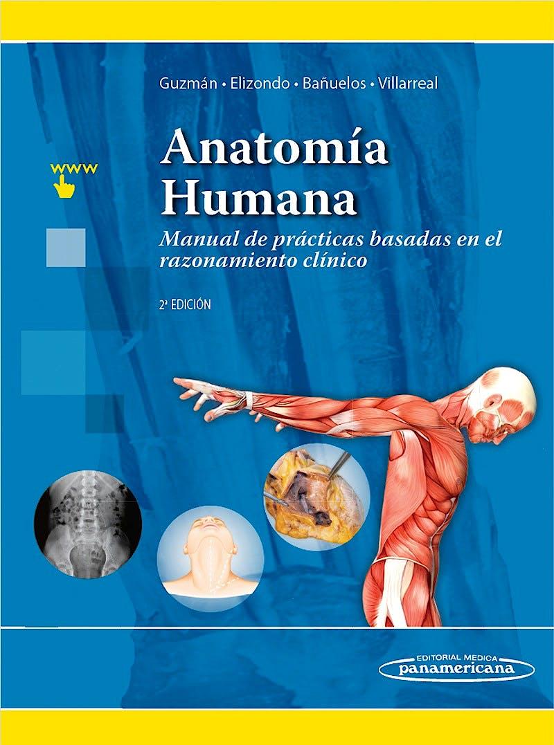 Portada del libro 9786078546152 Anatomía Humana. Manual de Prácticas Basadas en el Razonamiento Clínico + Acceso Online