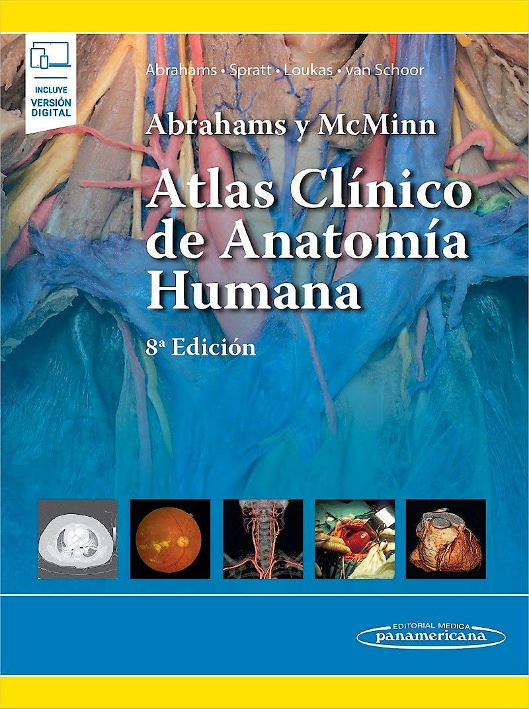 Portada del libro 9786078546374 Abrahams y McMinn Atlas Clínico de Anatomía Humana (Incluye Versión Digital)