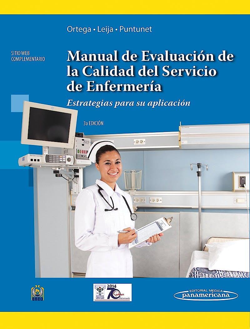Portada del libro 9786079356040 Manual de Evaluación de la Calidad del Servicio de Enfermería. Estrategias para Su Aplicación