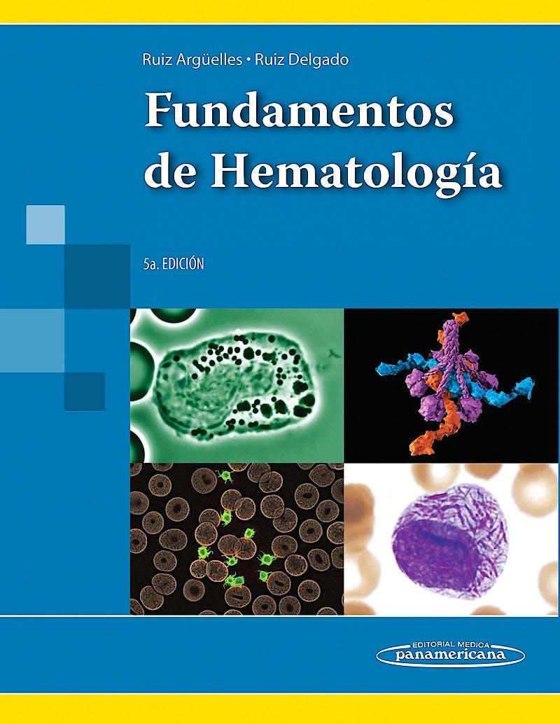 Portada del libro 9786079356088 Fundamentos de Hematologia