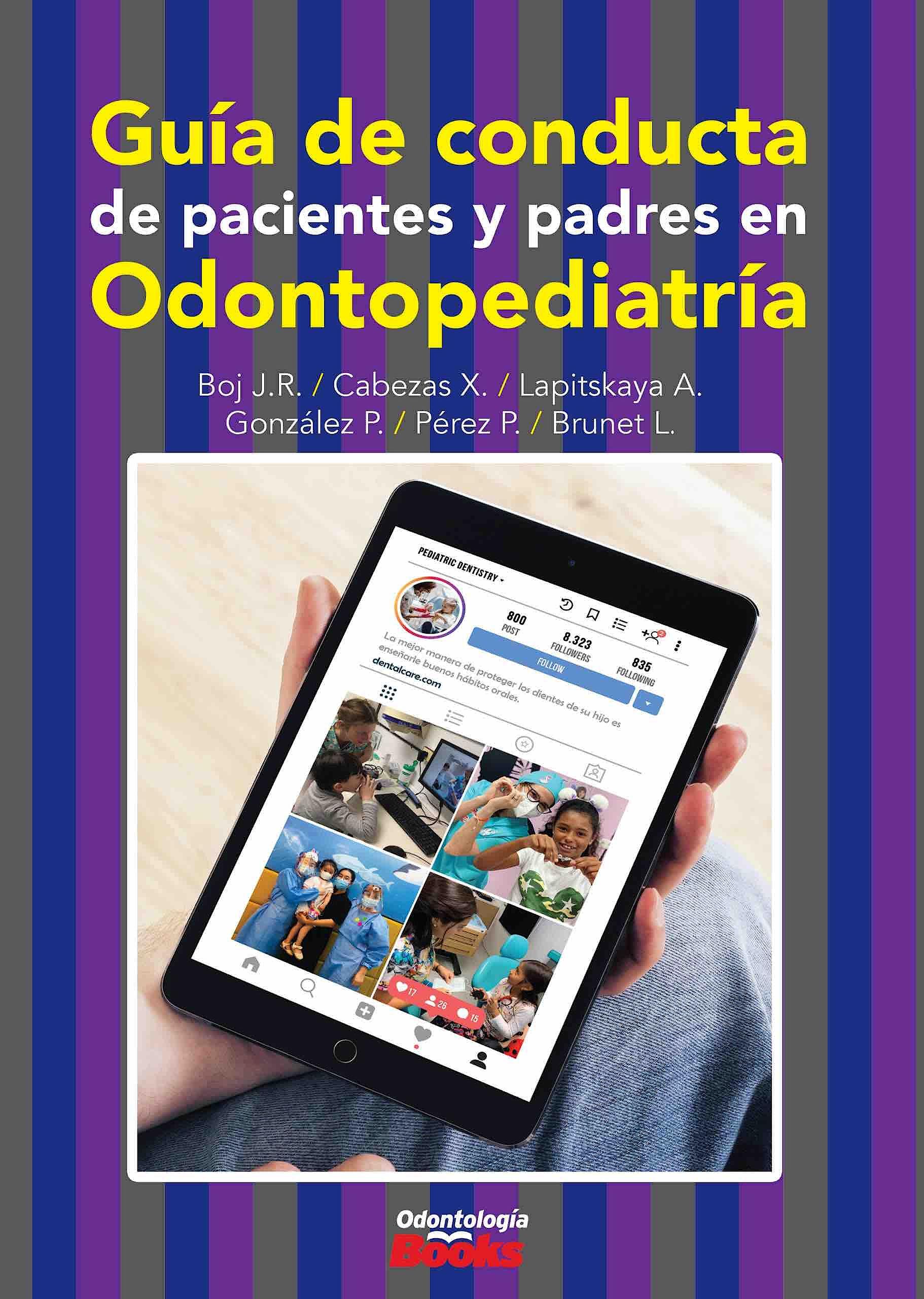 Portada del libro 9786079833633 Guía de Conducta de Pacientes y Padres en Odontopediatría
