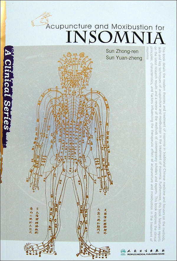 Portada del libro 9787117130646 Acupuncture and Moxibustion for Insomnia (A Clinical Series)