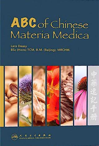 Portada del libro 9787117131148 Abc of Chinese Materia Medica
